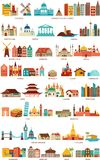 Homes from the world Stock Images