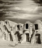 Homes of world wonder Petra, Jordan Stock Image