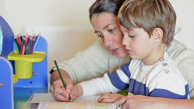 homeschooling banque de vidéos