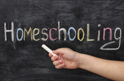 Homeschooling Royalty Free Stock Photography