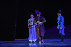 "Homesickness-Dance drama ""The Dream of Maritime Silk Road"" Stock Images"