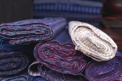 Homespun cloth Stock Image