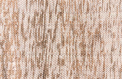 Homespun fabric in pastel colours Stock Photography