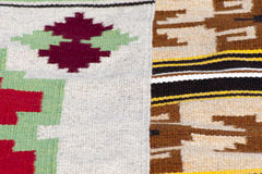Homespun rugs Stock Images