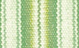 Homespun stof met een nationaal ornament Stock Foto