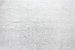 Homespun white fabric, abstract background. Royalty Free Stock Images