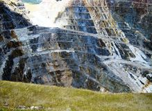 Homestake Mine Lead South Dakota. Homestake Mine - Lead South Dakota Stock Image