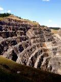 Homestake minledning South Dakota arkivbilder