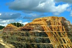 Homestake minledning South Dakota royaltyfri fotografi