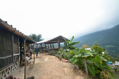 Homestay camping and tent at Doi Luang Chiang Dao in Chiang Mai Province, Thailand Royalty Free Stock Photos