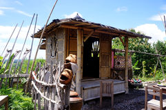 Homestay. With a natural feel in a hill village in Bantul, Yogyakarta, Indonesia Stock Image