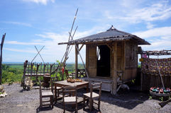 Homestay. With a natural feel in a hill village in Bantul, Yogyakarta, Indonesia Stock Photo