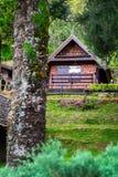 Homestay på Angkhang Royaltyfri Fotografi