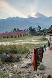 Homestay vietnamita tradicional Imágenes de archivo libres de regalías
