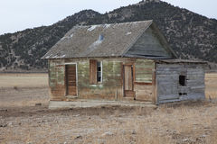 Homestead. Abandoned homestead in Nevada mountains stock photography