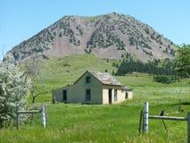 Homestead At Base Of Bear Butte Stock Photos