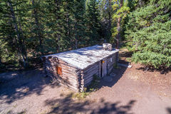 Homestead Cabin Aerial Royalty Free Stock Images