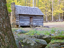 Homestead in Cade's Cove Stock Photos