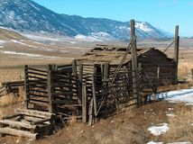 Homestead Corral Royalty Free Stock Images