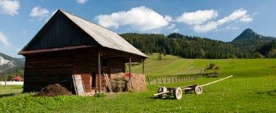 Homestead - Farmhouse Royalty Free Stock Photo