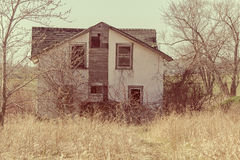Homestead. An old fashion homestead wreck Royalty Free Stock Photography