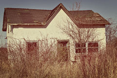 Homestead. An old fashion homestead wreck Stock Photography