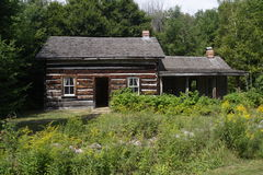 Homesteader`s House Stock Photo