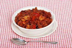 Homestyle Chili Royalty Free Stock Photos