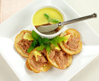 Homestyle Country Pate Royalty Free Stock Images