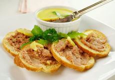 Homestyle Country Pate Stock Image