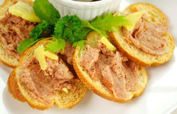 Homestyle Country Pate Stock Photo