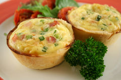 Homestyle Quiche 1 Royalty Free Stock Photo