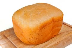 Homestyle white bread Royalty Free Stock Images