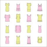 Homewear. clothes for women. pajamas. Pajamas.homewear. clothes for women Royalty Free Stock Image