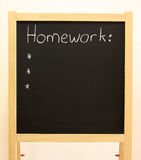 Homework Royalty Free Stock Photo