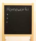 Homework Royalty Free Stock Photo