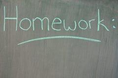 Homework Royalty Free Stock Photos