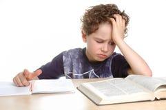 Homework stock image