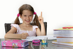 Homework Stock Photography