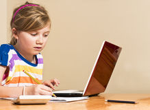 Homework Royalty Free Stock Photography