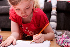 Homework Royalty Free Stock Images