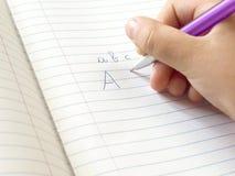 Homework Royalty Free Stock Photography