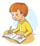 homework ilustracji