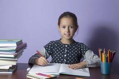 homework Zdjęcie Stock