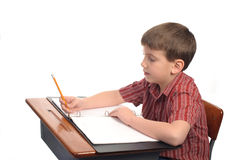 Homework Stock Image