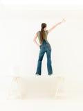 Homework back women dancing Stock Images