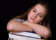 Homework Blues Royalty Free Stock Photography
