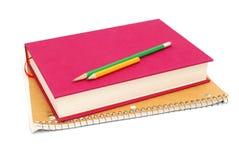 Homework in classroom. Idea of preparing a classroom homework Royalty Free Stock Image