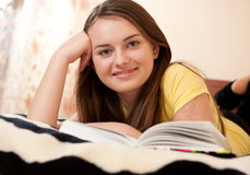 Homework reading Stock Images