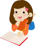 Homework time Royalty Free Stock Images